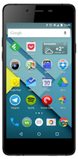 Micromax Q450 canvas sliver 5 black
