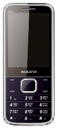 MAXVI X850 DS Black