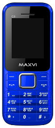MAXVI C3 DS Blue (без з/у)