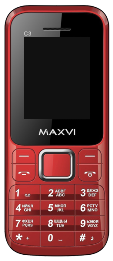 MAXVI C3 DS Red (без з/у)