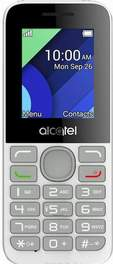 Alcatel  OT 1054D White